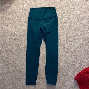 Lululemon Emerald leggings